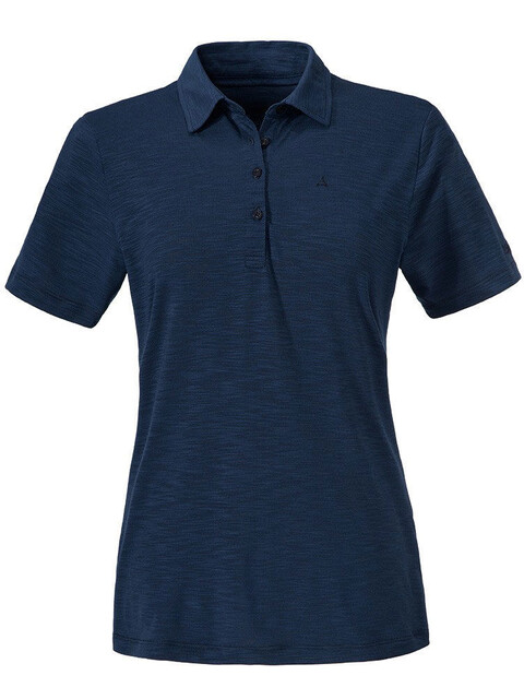 Schöffel Capri Polo Shirt Women dress blues